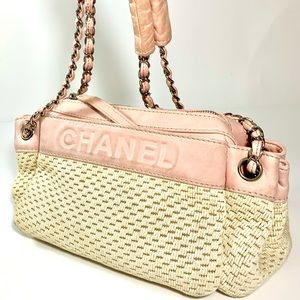 CHANEL Lax Accordion shoulder bag